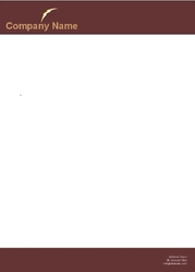 electronic-company-letterhead-
