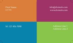 Four Color Ornate