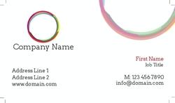 Color Framed Ring