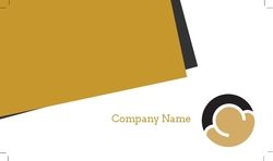 Abstract Business Overlay - Black Text