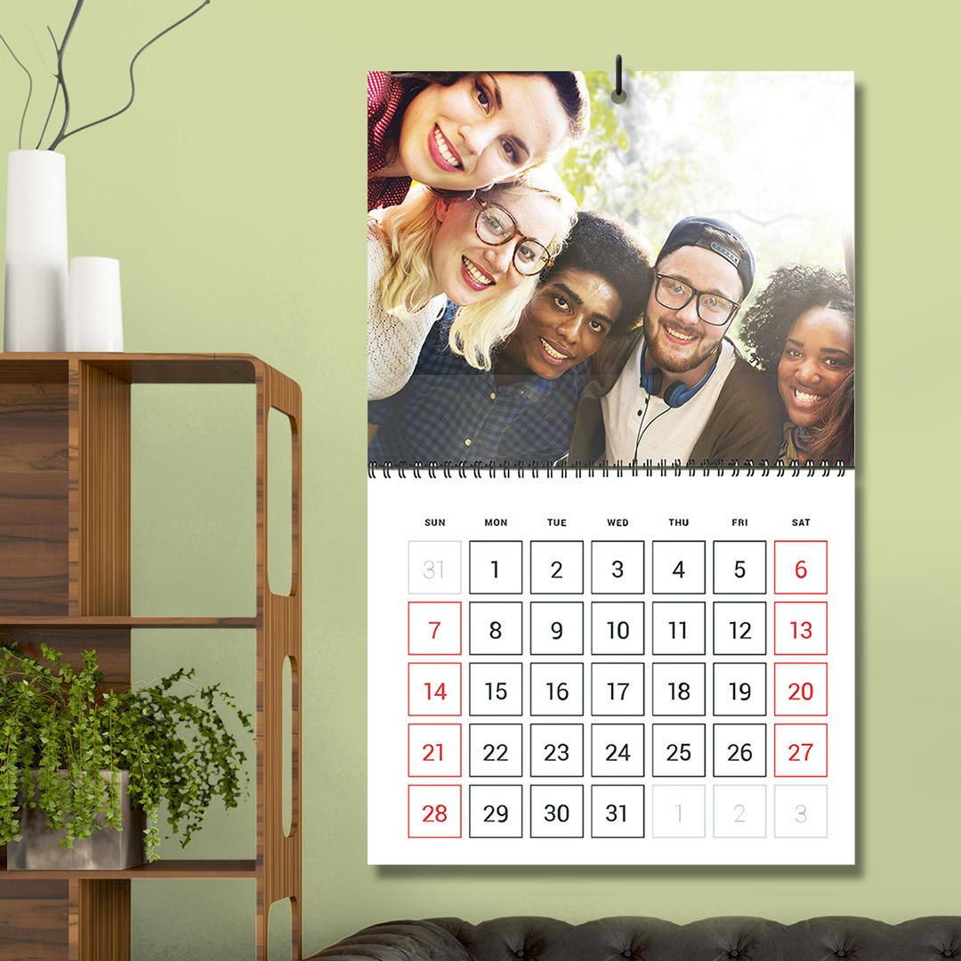 Folded Calendar 01